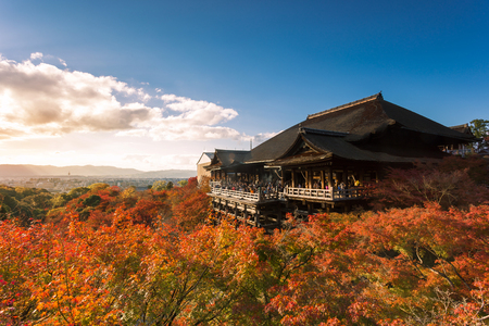 Kiyomizu-dera Temple in Kyoto, Japan Éditoriale