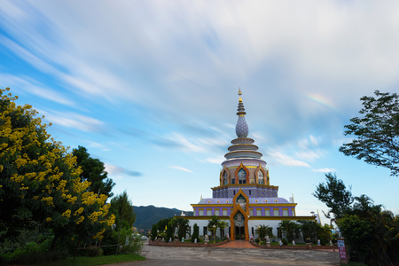 Wat Thaton (Thaton Tempel) in der Provinz Chiang Mai, Thailand Standard-Bild - 88265647