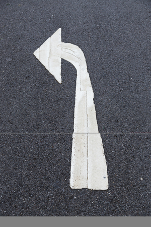 Road Sign, turn left