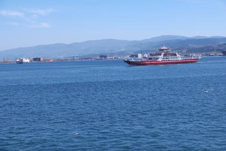 seaway: Cargo ship carrying