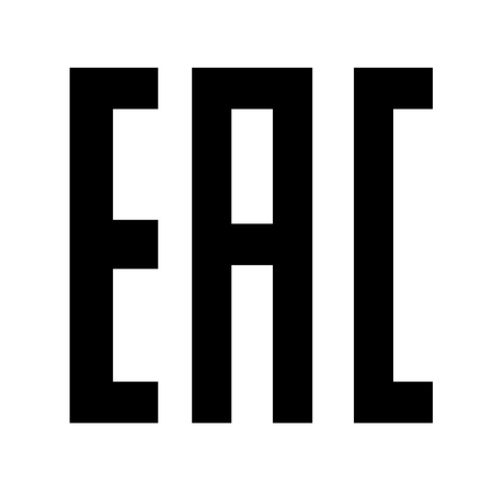 conformity: EAC Eurasian Conformity mark Vector