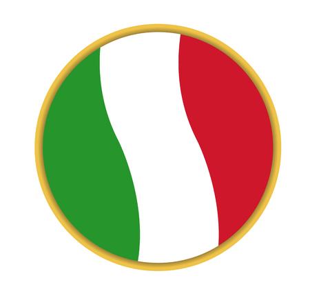 vector italian pizza icon
