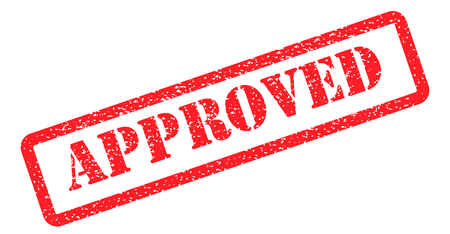 Approved stamp red.