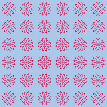 Floral seamless vector background.