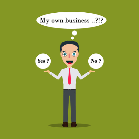 Businessman Cartoon Character Icon Isolated Design Template Vector Illustration.