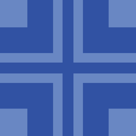 Frame wallpaper trendy pattern background web page design in blue lines.