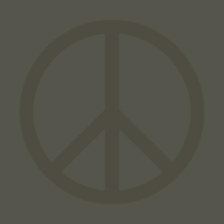 Peace icon design Illusztráció