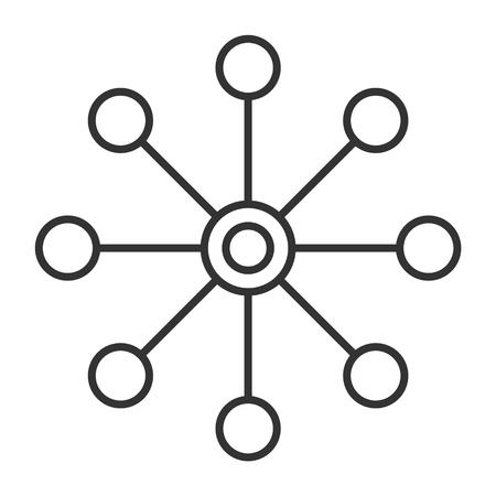 icône de vecteur isolé multicanal sur fond blanc, conception d'icône multicanal.