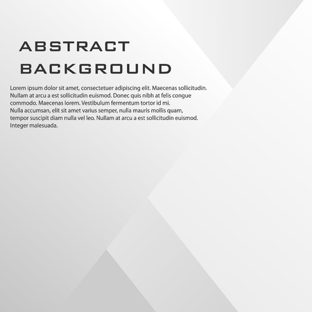Abstract shadow background of square pattern. Vector business color modern page . Ilustração