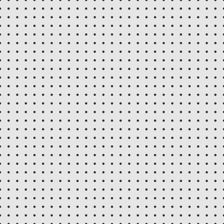 Dot grid vector paper graph paper on grey background .