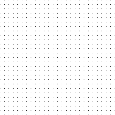 Papier millimétré de papier de vecteur de grille de point sur le fond blanc.