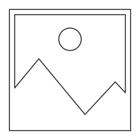 No image outline vector symbol, missing available icon. No gallery for this moment . Ilustrace