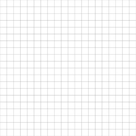 Blaupausenpapiergitter mit leerem Hintergrundvektor. Vektor-leere Seite Hintergrundvorlage. Vektorgrafik