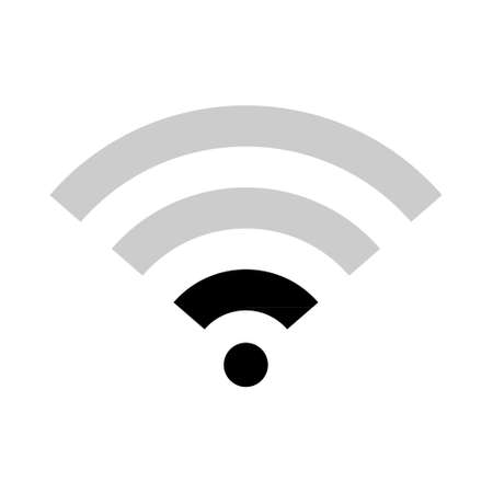 internet symbol, wifi free signal vector illustration, wireless mobile icon free.