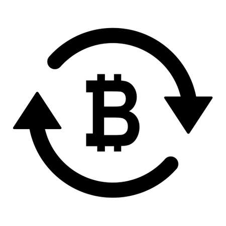 Bitcoin money icon, indian graphic pay business sign, market economy vector illustration.
