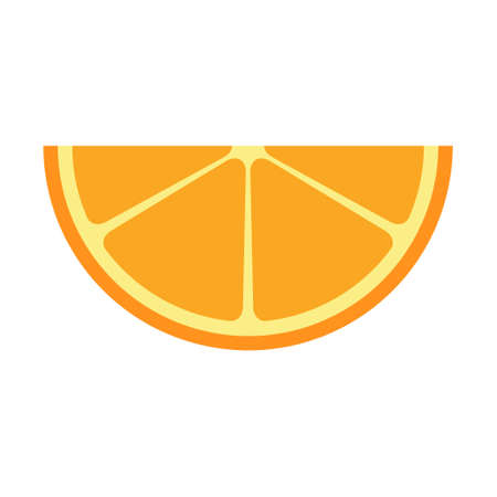 Citrus fresh icon, food fruit juice organic symbol, healty nature design vector illustration.