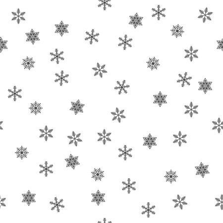 Merry christmas background, Xmas snow flake poster template, winter decoration vector illustration, greeting card. Illusztráció