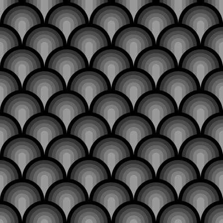 Seamless pattern background, abstract geometric wallpaper,  rainbow design, vector illustration decoration . Illusztráció
