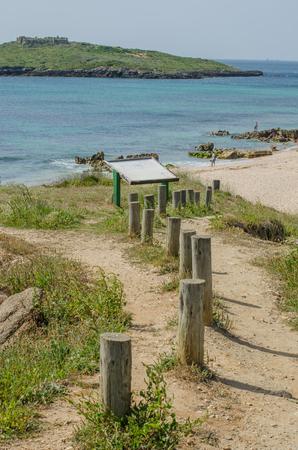 Praia da Ilha do Pessegueiro beach near Porto Covo, Portugal.