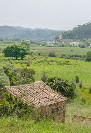 View of Odeceixe village in Aljezur, Portugal