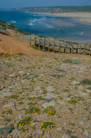 Praia da Bordeira beach near Carrapateira, Portugal.
