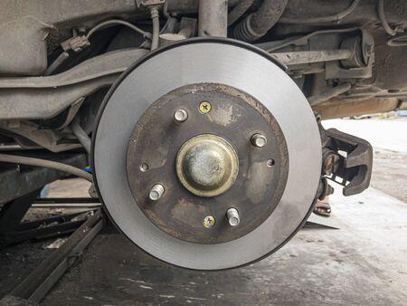 Polished disc break. Disc break polished already for change break pads.