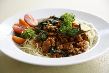 Spaghetti Italian Sauce with Bolognese