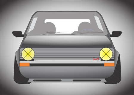gti: vector car mk1 gti