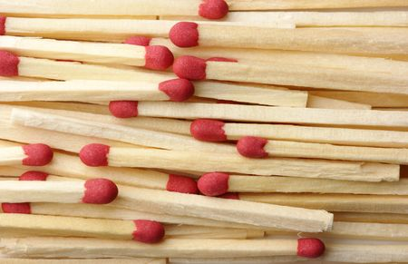 Red matchsticks, can be used as a background photo