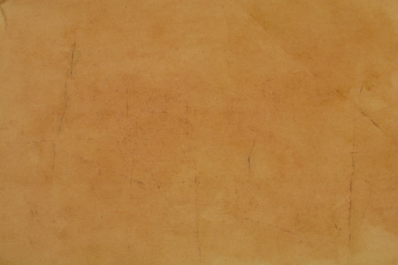 generic location: old wrinkled paper , brown background