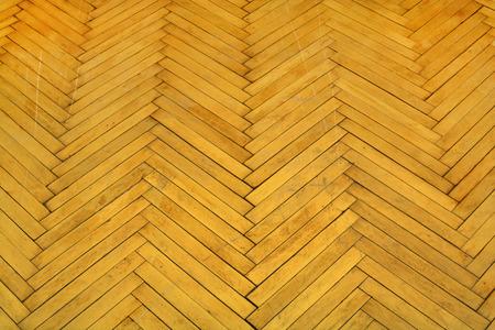 Old parquet, Dark brown wood background.  The flooring to repair
