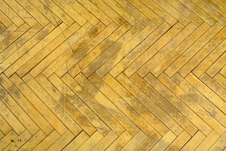 Brown wood background. Old parquet. Flooring for repair