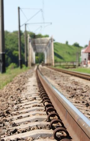 railroad in nature Stock Photo - 17570401