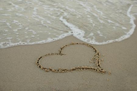 浜辺の砂の心