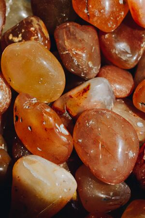 natural mineral gemstones of a certain type in view