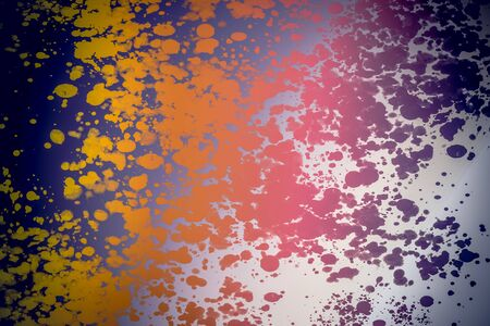 Abstract background template made of of colorful paint splashes