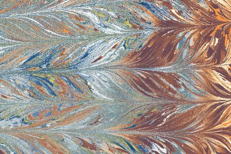 Abstract creative marbling pattern for fabric,  design background texture Banque d'images