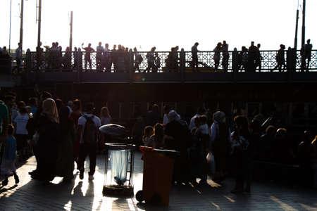 Galata Bridge favorite destination  for visiting on Golden Horn