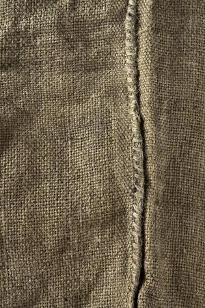 hanf: Texture alter Hanf Tasche zum Masseng�tertransport