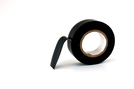 Insulating tape on roll