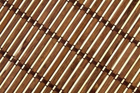 Esterilla de bambú tradicional para uso doméstico y decoración Foto de archivo - 11281230
