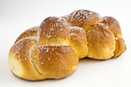 Sweet ritual bread is traditionally made for Easter photo