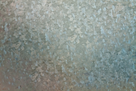 galvanized: Galvanized steel sheet with abstract shapes on the surface