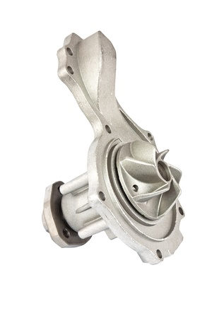 New car water pump isolated
