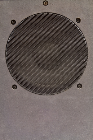 Hi fi home speakers of the sound system Stock Photo - 16702663