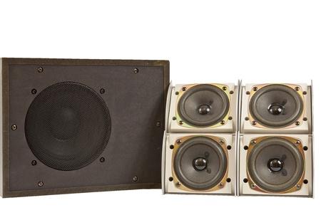 hi fi: Hi fi home speakers of the sound system