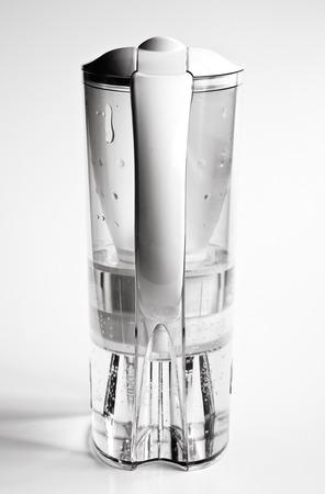 Jug for filtering tap water in dual tone colors