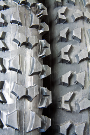 New tire for mountain bike with distinctive tread for excellent traction