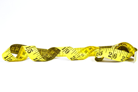 cm: Measuring tape in inches and cm scale