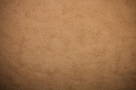 embossed paper: Embossed paper wallpaper in brown tone with vignetting corners